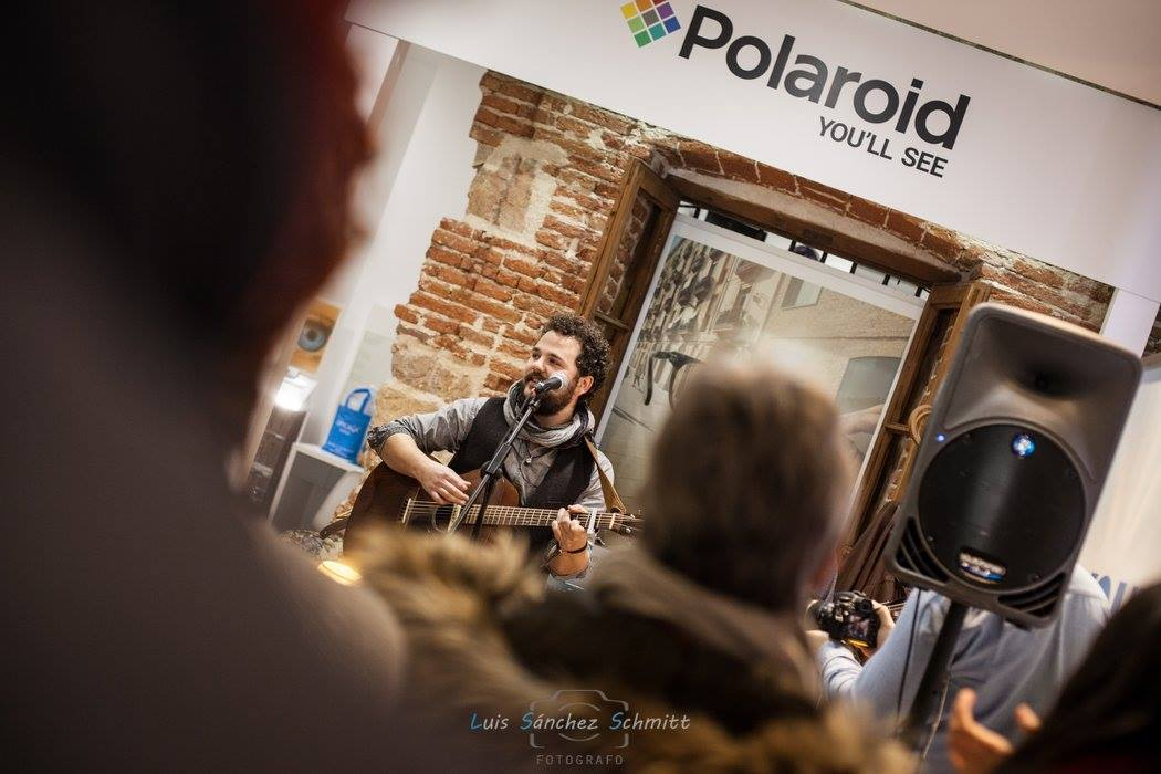 Evento Polaroid + Gotelé Band